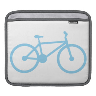 Baby Blue Bicycly Sleeves For iPads