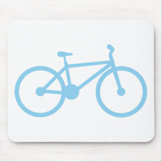 Baby Blue Bicycly Mousepad