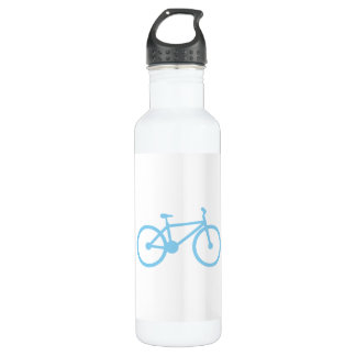 Baby Blue Bicycly 24oz Water Bottle