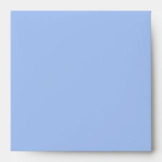 Baby Blue Black Linen Envelopes