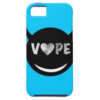 Baby Blue Black Vape Heart Rebel iPhone SE/5/5s Case