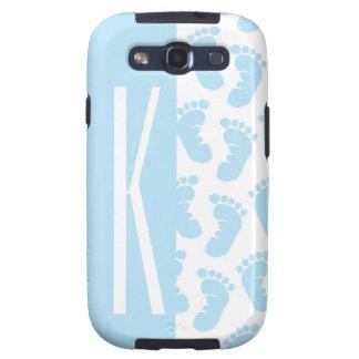 Baby Blue, Boy Baby Feet Samsung Galaxy SIII Case