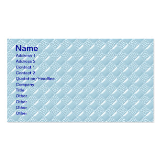 Baby Blue Business Card Template