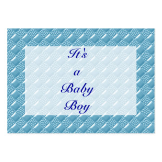 Baby Blue Business Cards