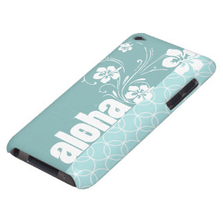 Baby Blue Circles; Aloha iPod Touch Cases