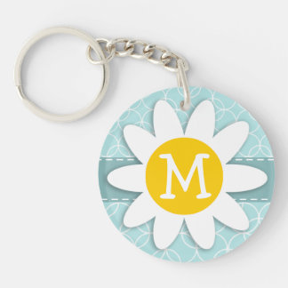 Baby Blue Circles; Daisy Keychains