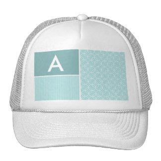 Baby Blue Circles Hat