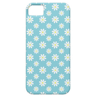 Baby Blue Daisies Floral Pattern iPhone SE/5/5s Case