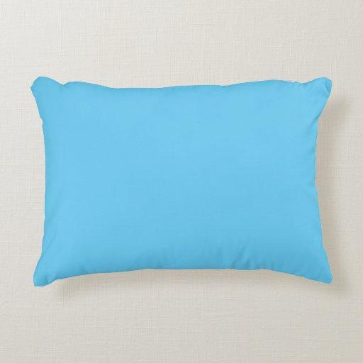 Baby Blue Decorative Pillow : ?Baby Blue? Decorative Pillow Zazzle