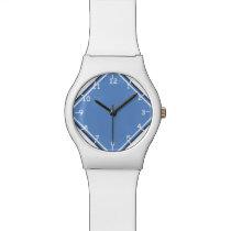 Baby Blue Diamond Ten Wrist Watch