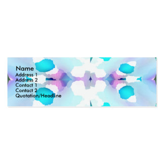 Baby Blue Double-Sided Mini Business Cards (Pack Of 20)