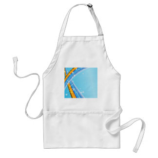 BABY BLUE DREAMS ADULT APRON