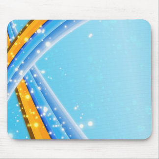 BABY BLUE DREAMS MOUSE PAD