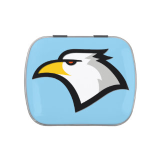 Baby Blue Eagle Jelly Belly Candy Tins
