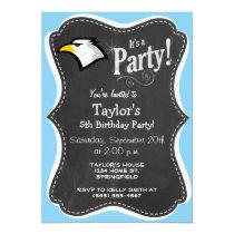 Baby Blue Eagle Invitation