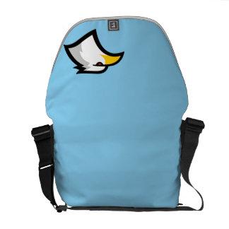 Baby Blue Eagle Messenger Bag