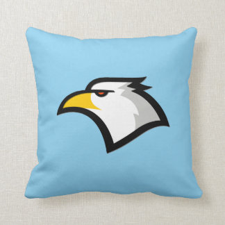 Baby Blue Eagle Throw Pillow