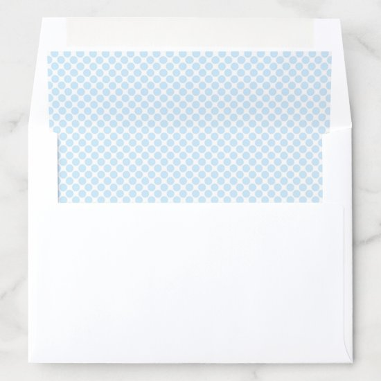 Baby Blue Envelope Liner