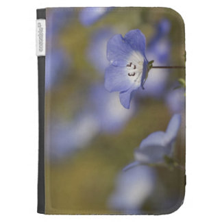 Baby blue-eyes in bloom, Paso Robles Cases For Kindle