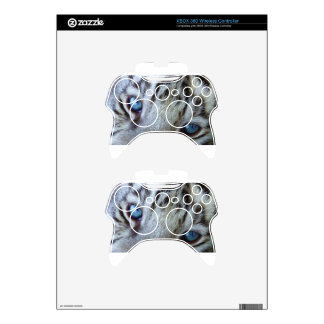 Baby Blue Eyes Xbox 360 Controller Skin