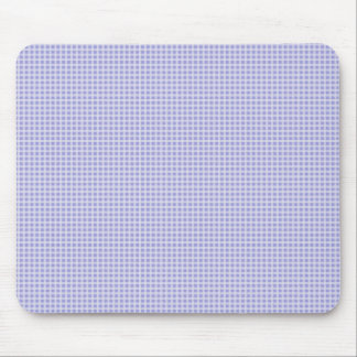 Baby Blue Gingham Mouse Pad