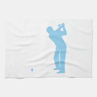 Baby Blue Golf Hand Towel