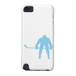 Baby Blue Hockey iPod Touch (5th Generation) Case