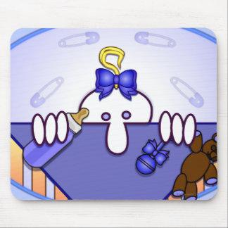 Baby Blue Kilroy Mousepad