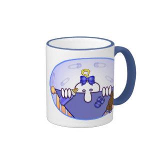 Baby Blue Kilroy Ringer Mug