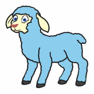 Baby Blue Lamb Cutout