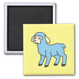Baby Blue Lamb Magnet