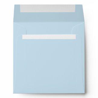 Baby Blue Linen Envelopes