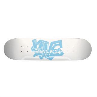 Baby Blue love Skate Boards