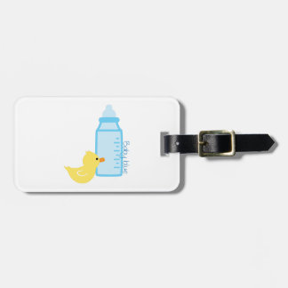 Baby Blue Tag For Bags