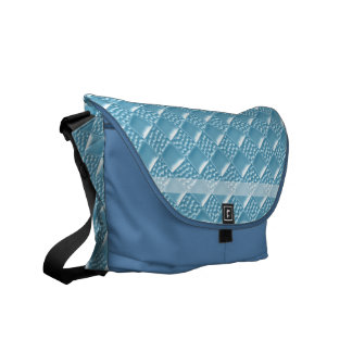 Baby Blue Messenger Bag