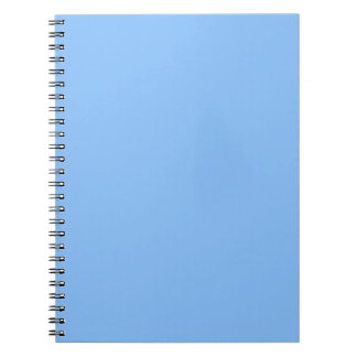 Baby Blue Notebook