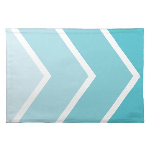 Blue ombre chevron pattern - photo#14