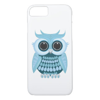 Baby Blue Owl iPhone 7 Case