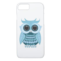 Baby Blue Owl iPhone 8/7 Case
