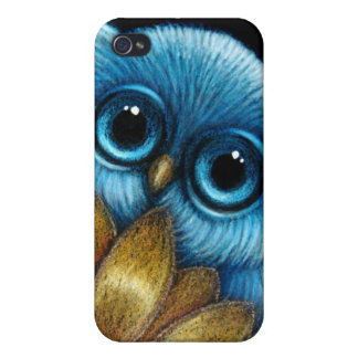 Baby Blue Owl Speck Case