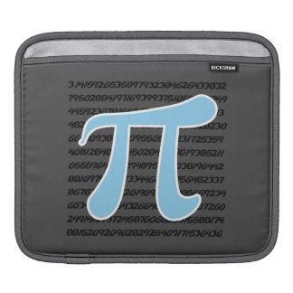 Baby Blue Pi Symbol iPad Sleeve