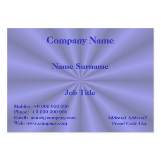 Baby Blue Pleats Card Business Card