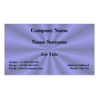 Baby Blue Pleats Card Business Card Template