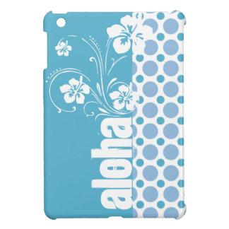 Baby Blue Polka Dots; Aloha Cover For The iPad Mini