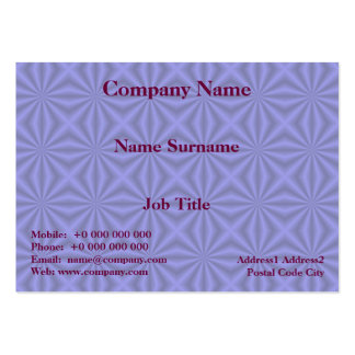 Baby Blue Quilt Pattern Card Business Card