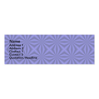 Baby Blue Quilt Pattern Card Business Cards
