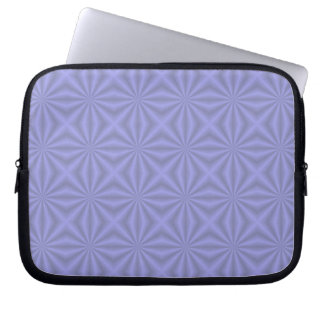 Baby Blue Quilt Pattern Laptop Sleeve