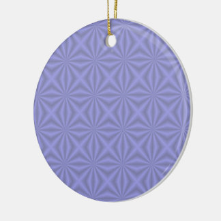 Baby Blue Quilt Pattern Ornament