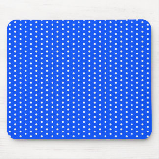 baby blue scores polka dots scored dabbed dabs mouse pad