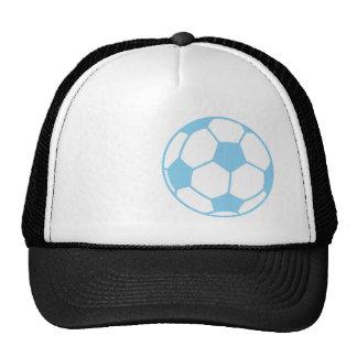 Baby Blue Soccer Ball Trucker Hat